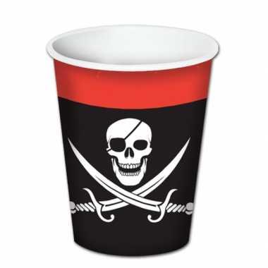 Piraat feest bekertjes